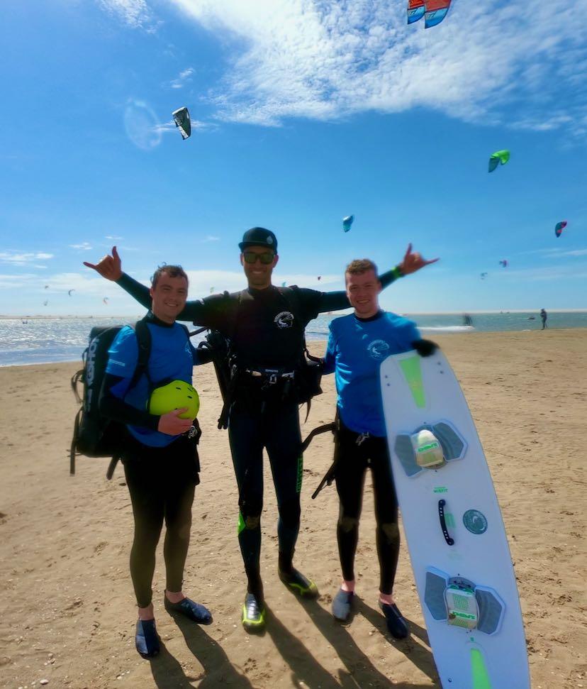 Kitesurfen bij Surfblend Surfschool