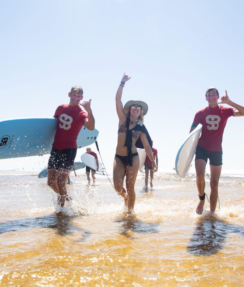 Surfles voor volwassenen bij Surfblend Surfschool