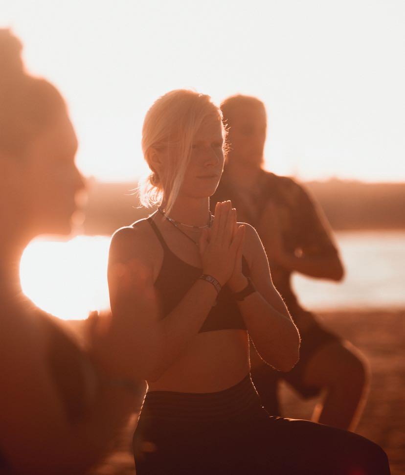 Yoga bij Surfblend Surfschool