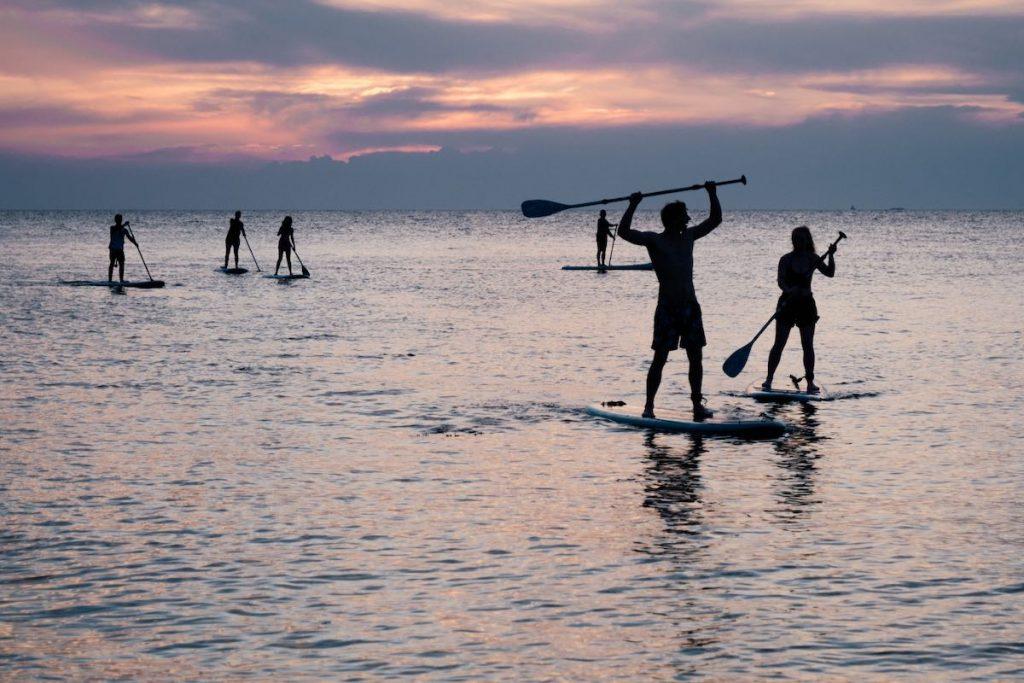SUP huren bij Surfblend Surfschool